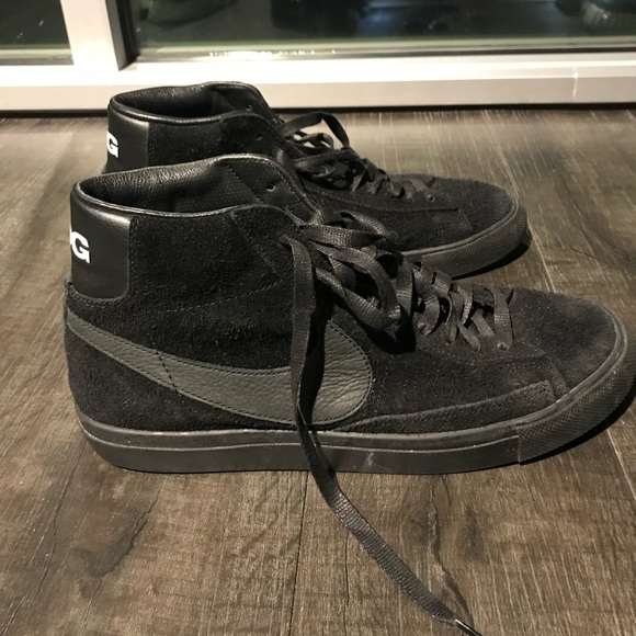 5039bb6f4d05 Comme des Garcons Other - Nike CDG high top blazer 10.5